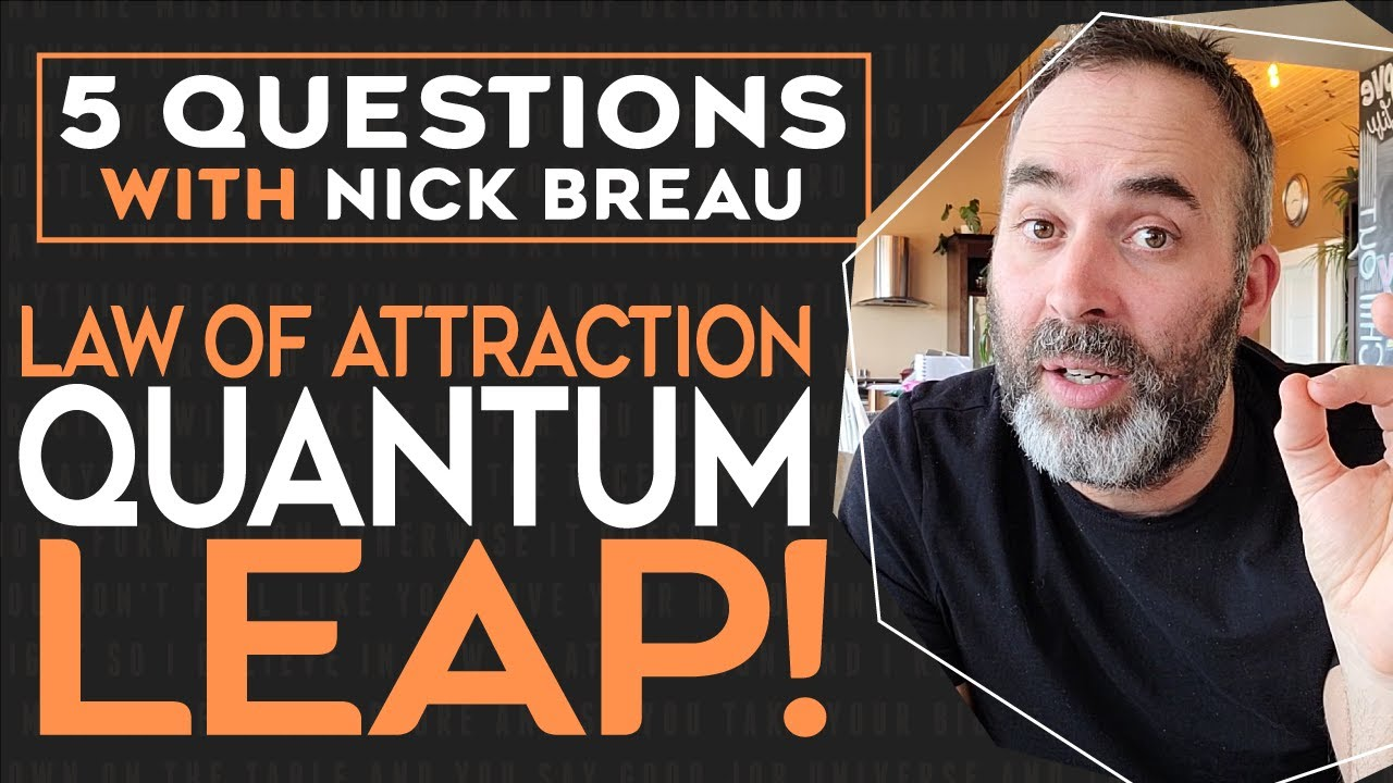 Feeling Stuck?   Making A Quantum Leap With Law Of Attraction